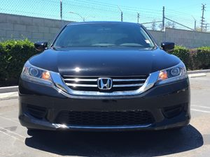 2014 Honda Accord Sedan LX Carfax 1-Owner  Crystal Black Pearl  We are not responsible for typ