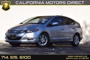 2011 Honda Insight EX Carfax 1-Owner - No AccidentsDamage Reported  Alabaster Silver Metallic