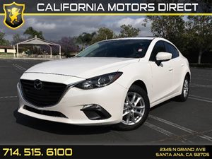 2014 Mazda Mazda3 i Grand Touring Carfax 1-Owner  Snowflake White Pearl Mica  We are not respo