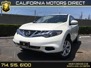2014 Nissan Murano S Carfax 1-Owner - No AccidentsDamage Reported  Pearl White  We are not re
