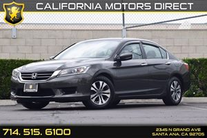 2014 Honda Accord Sedan LX Carfax 1-Owner - No AccidentsDamage Reported  Gray  We are not res