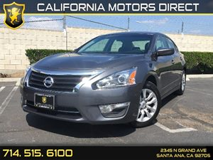 2015 Nissan Altima 25 S Carfax 1-Owner Air Conditioning  AC Audio  Auxiliary Audio Input Cl