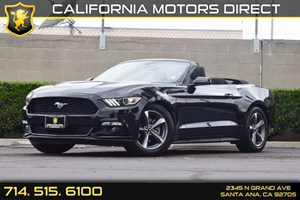 2015 Ford Mustang V6 Carfax Report - No AccidentsDamage Reported  Black  We are not responsib