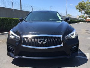 2015 INFINITI Q50 Sport Carfax 1-Owner Audio  Auxiliary Audio Input Chrome Grille Clearcoat Pa