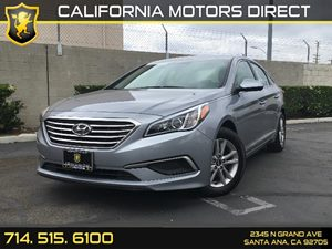 2016 Hyundai Sonata 24L SE Carfax 1-Owner  Symphony Silver  We are not responsible for typogr