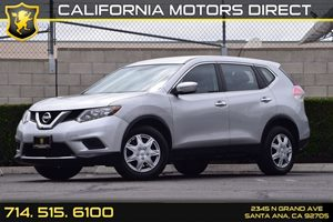 2015 Nissan Rogue S Carfax 1-Owner - No AccidentsDamage Reported  Brilliant Silver  We are no