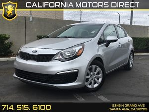 2017 Kia Rio LX Carfax 1-Owner  Aurora Black  We are not responsible for typographical errors