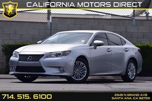2014 Lexus ES 350  Carfax 1-Owner 1 12V Dc Power Outlet Air Conditioning  AC Audio  AmFm St