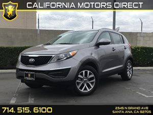 2014 Kia Sportage LX Carfax 1-Owner - No AccidentsDamage Reported  Bright Silver  We are not