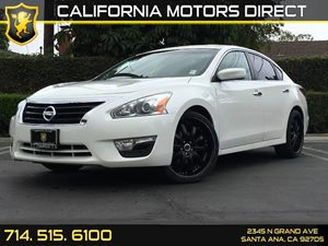2015 Nissan Altima 25 S Carfax 1-Owner - No AccidentsDamage Reported  Pearl White  We are no
