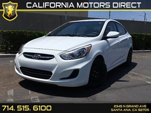 2016 Hyundai Accent SE Carfax 1-Owner - No AccidentsDamage Reported  Century White  We are no