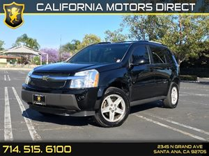 2006 Chevrolet Equinox LT Carfax Report - No AccidentsDamage Reported  Black  We are not resp