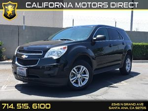 2013 Chevrolet Equinox LS Carfax 1-Owner Audio  Auxiliary Audio Input Convenience  Automatic H