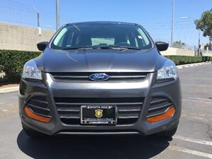 2015 Ford Escape S Carfax 1-Owner - No AccidentsDamage Reported  Gray  We are not responsible