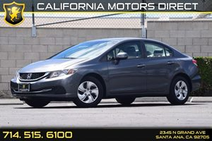 2013 Honda Civic Sdn LX Carfax Report  Gray  We are not responsible for typographical errors