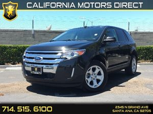 2014 Ford Edge SEL Carfax 1-Owner - No AccidentsDamage Reported  Tuxedo Black Metallic  We ar