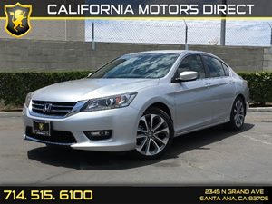 2014 Honda Accord Sedan Sport Carfax 1-Owner - No AccidentsDamage Reported  Alabaster Silver M