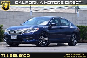 2016 Honda Accord Sedan Sport Carfax 1-Owner - No AccidentsDamage Reported  Obsidian Blue Pear
