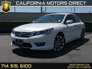 2015 Honda Accord Sedan Sport Carfax 1-Owner - No AccidentsDamage Reported  Crystal Black Pear