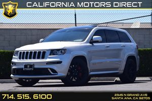 2012 Jeep Grand Cherokee SRT8 Carfax Report - No AccidentsDamage Reported  Bright Silver Metal