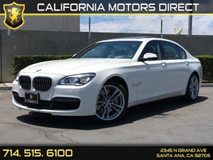 2014 BMW 7 Series 750Li Carfax 1-Owner  Alpine White  We are not responsible for typographical