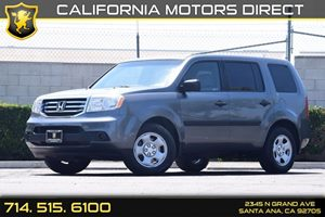 2012 Honda Pilot LX Carfax Report  Gray  We are not responsible for typographical errors All