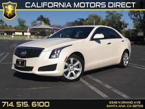 2014 Cadillac ATS Standard RWD Carfax 1-Owner  White Diamond Tricoat  We are not responsible f