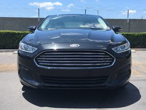 2015 Ford Fusion SE Carfax 1-Owner - No AccidentsDamage Reported  Tuxedo Black  We are not re