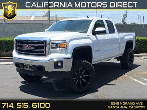 2014 GMC Sierra 1500 SLE Carfax 1-Owner  Summit White  We are not responsible for typographica