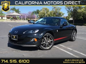 2013 Mazda MX-5 Miata Club Carfax 1-Owner - No AccidentsDamage Reported Audio  Auxiliary Audio