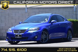 2011 Lexus IS 250  Carfax Report - No AccidentsDamage Reported  Cerulean Blue Metallic  We ar