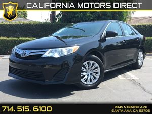 2014 Toyota Camry LE Carfax 1-Owner  Attitude Black Metallic  We are not responsible for typog