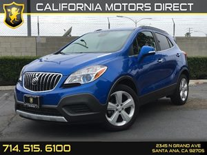 2015 Buick Encore  Carfax Report  Brilliant Blue Metallic  We are not responsible for typograp