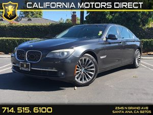 2011 BMW 7 Series 750Li Carfax 1-Owner  Space Gray Metallic  We are not responsible for typogr