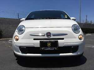 2015 FIAT 500 Sport Carfax Report - No AccidentsDamage Reported  Bianco White  We are not r