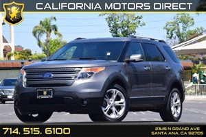 2014 Ford Explorer Limited Carfax 1-Owner - No AccidentsDamage Reported Audio  Auxiliary Audio