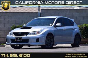 2014 Subaru Impreza Wagon WRX WRX Carfax 1-Owner - No AccidentsDamage Reported Audio  Auxiliary