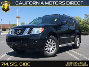2012 Nissan Pathfinder LE Carfax Report - No AccidentsDamage Reported Air Conditioning  AC Co