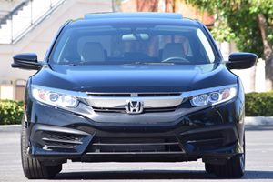 2016 Honda Civic Sedan EX Carfax 1-Owner  Crystal Black Pearl  We are not responsible for typo