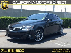 2013 Lexus IS 250  Carfax 1-Owner - No AccidentsDamage Reported  Black  We are not responsibl