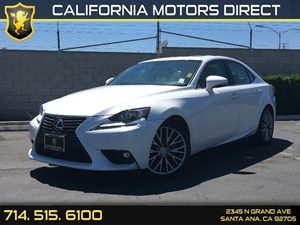 2015 Lexus IS 250  Carfax 1-Owner  Ultra White  We are not responsible for typographical error