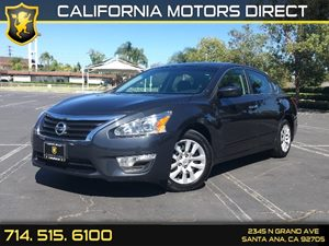 2014 Nissan Altima 25 S Carfax 1-Owner Air Conditioning  AC Audio  Auxiliary Audio Input Cl