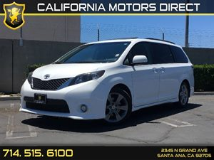 2014 Toyota Sienna SE Carfax 1-Owner - No AccidentsDamage Reported Air Conditioning  AC Audio
