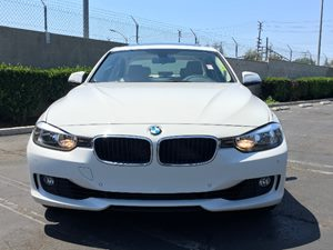 2014 BMW 3 Series 328i Carfax 1-Owner  Alpine White  We are not responsible for typographical
