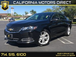 2015 Chevrolet Impala LT Carfax 1-Owner - No AccidentsDamage Reported  Black  We are not resp