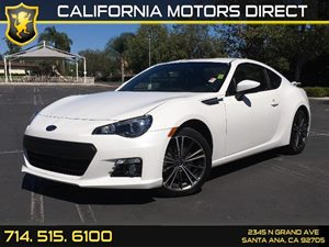 2016 Subaru BRZ Limited Carfax 1-Owner - No AccidentsDamage Reported  Crystal White Pearl  We