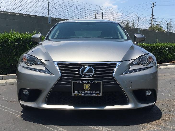 2015 Lexus IS 250  Audio  Auxiliary Audio Input Convenience  Hid Headlights Convenience  Keyl