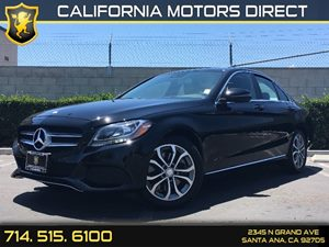 2016 MERCEDES C 300 Sedan Carfax 1-Owner Audio  Auxiliary Audio Input Convenience  Cruise Cont