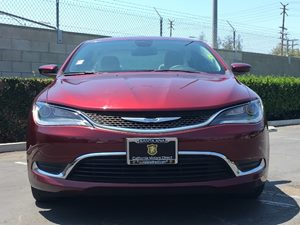 2015 Chrysler 200 Limited Carfax 1-Owner  Velvet Red Pearlcoat  We are not responsible for typ