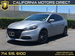 2016 Dodge Dart SE Carfax 1-Owner - No AccidentsDamage Reported  Billet Silver Metallic Clearc
